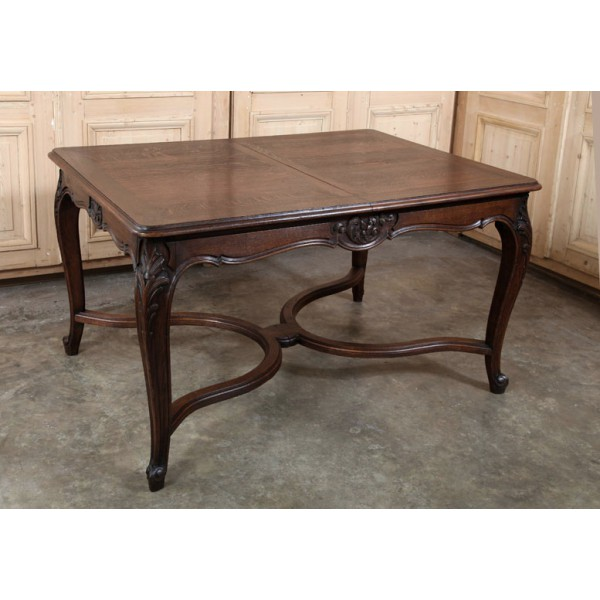 Picture of: Thin antique dining table