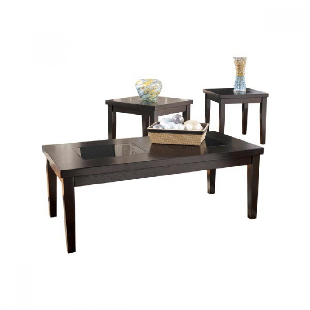 Image of: Black coffee table sets