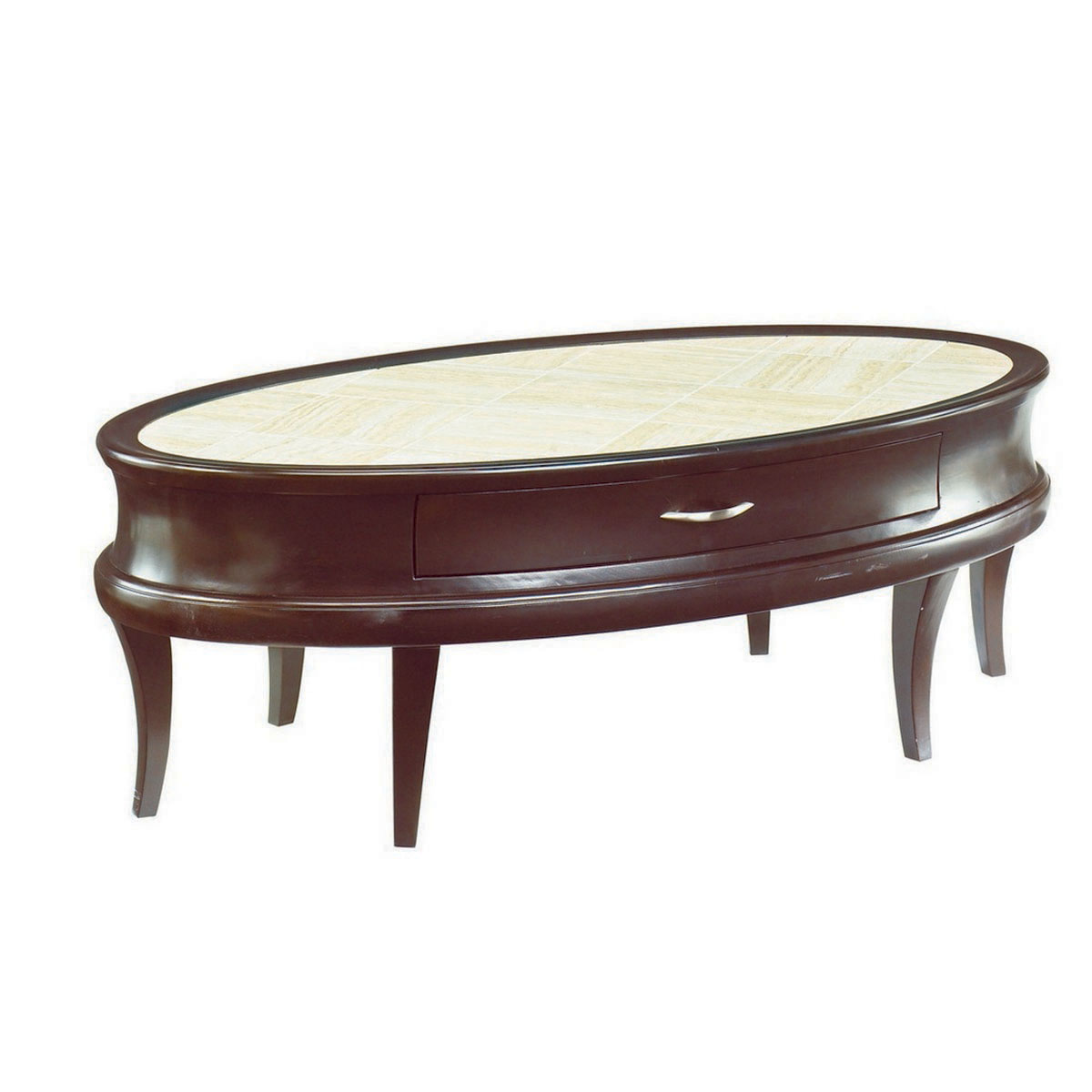 Image of: Coffee table sets oval