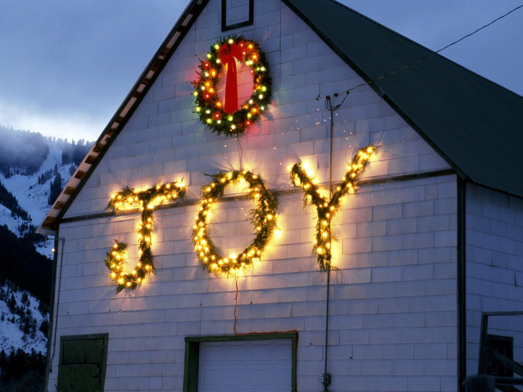 Inflatable Outdoor Christmas Manger Decorations