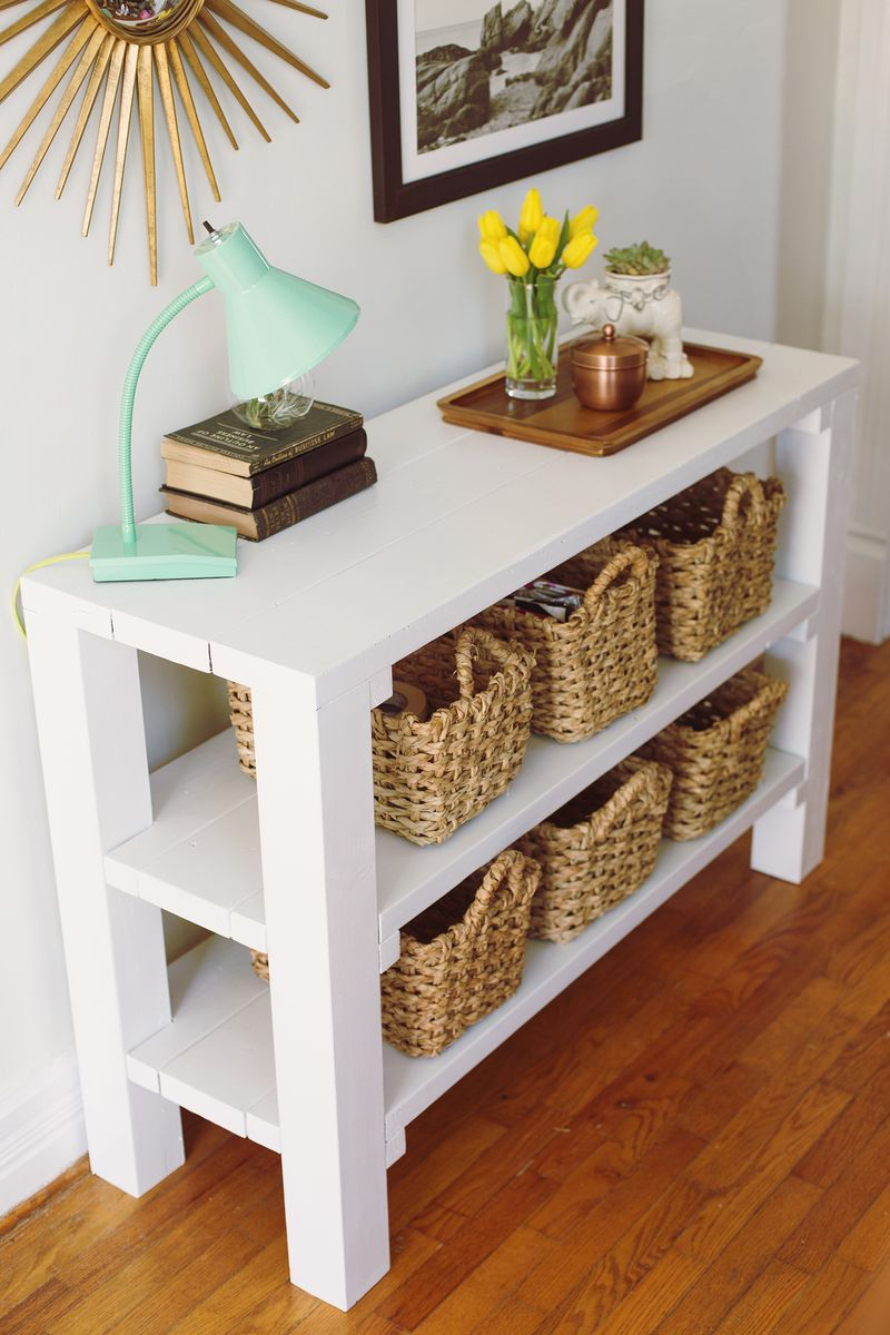 Luxury entryway tables