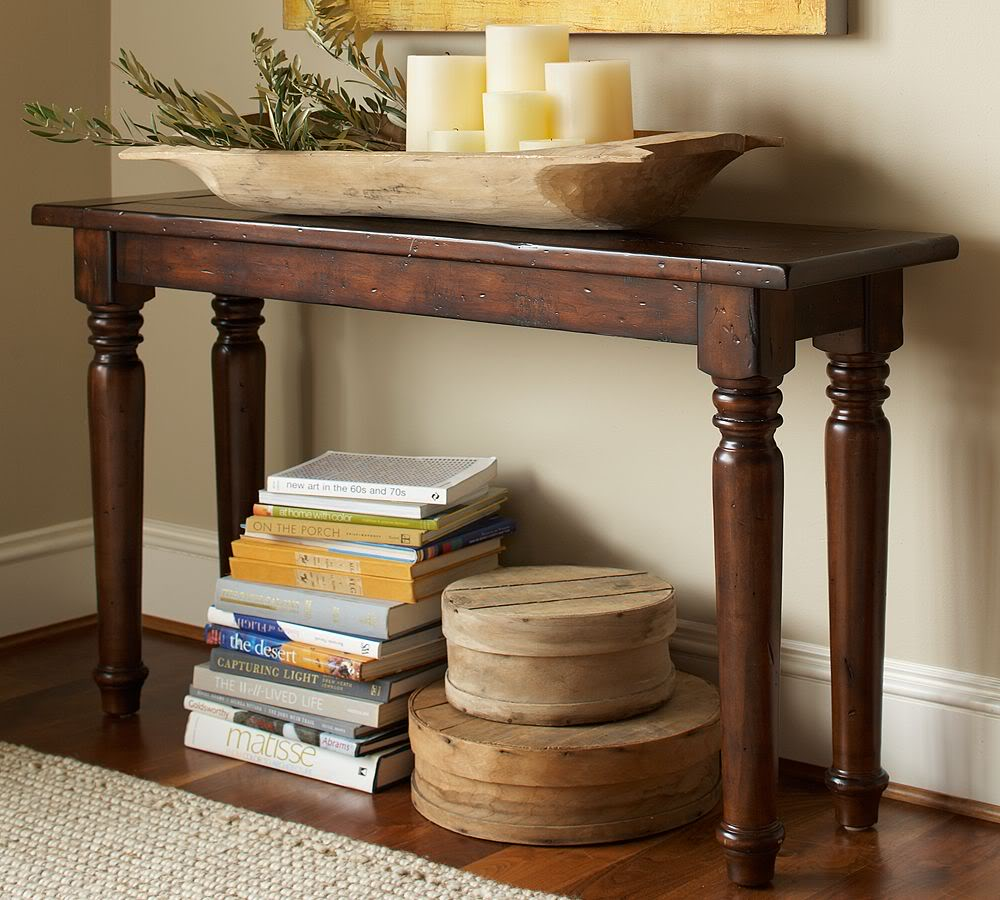 Image of: Traditional entryway tables