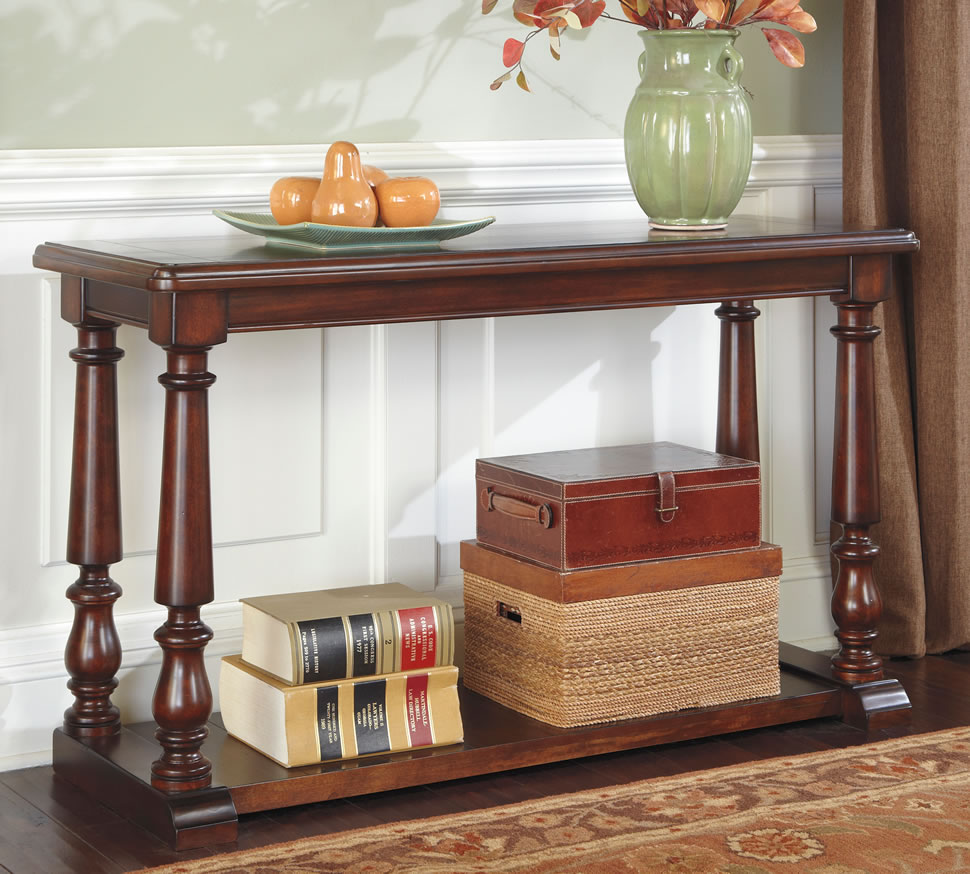 Image of: Vintage entryway tables