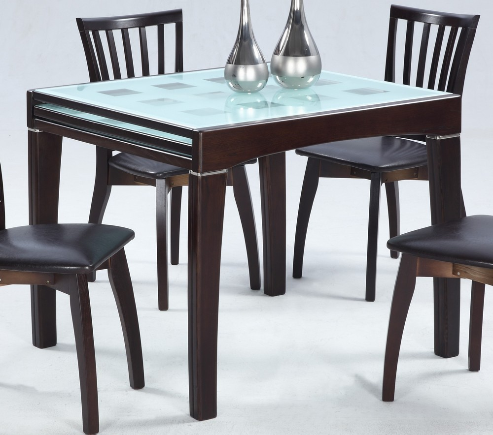 Image of: expandable dining room table info