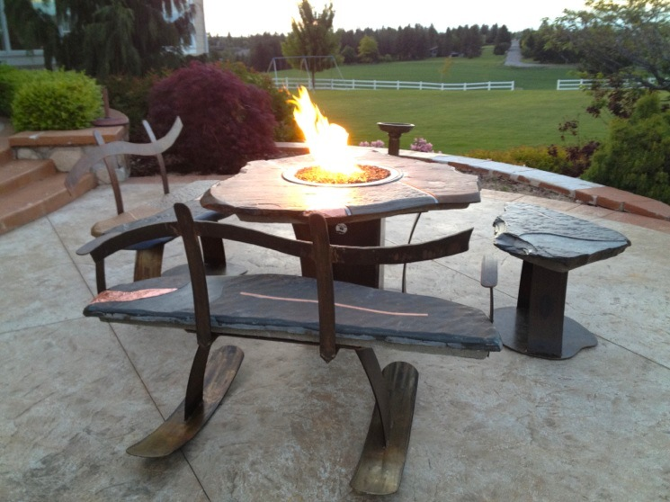 Picture of: small fire pit tables
