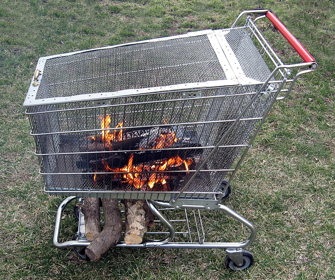 Image of: Diy Portable Fire Pit