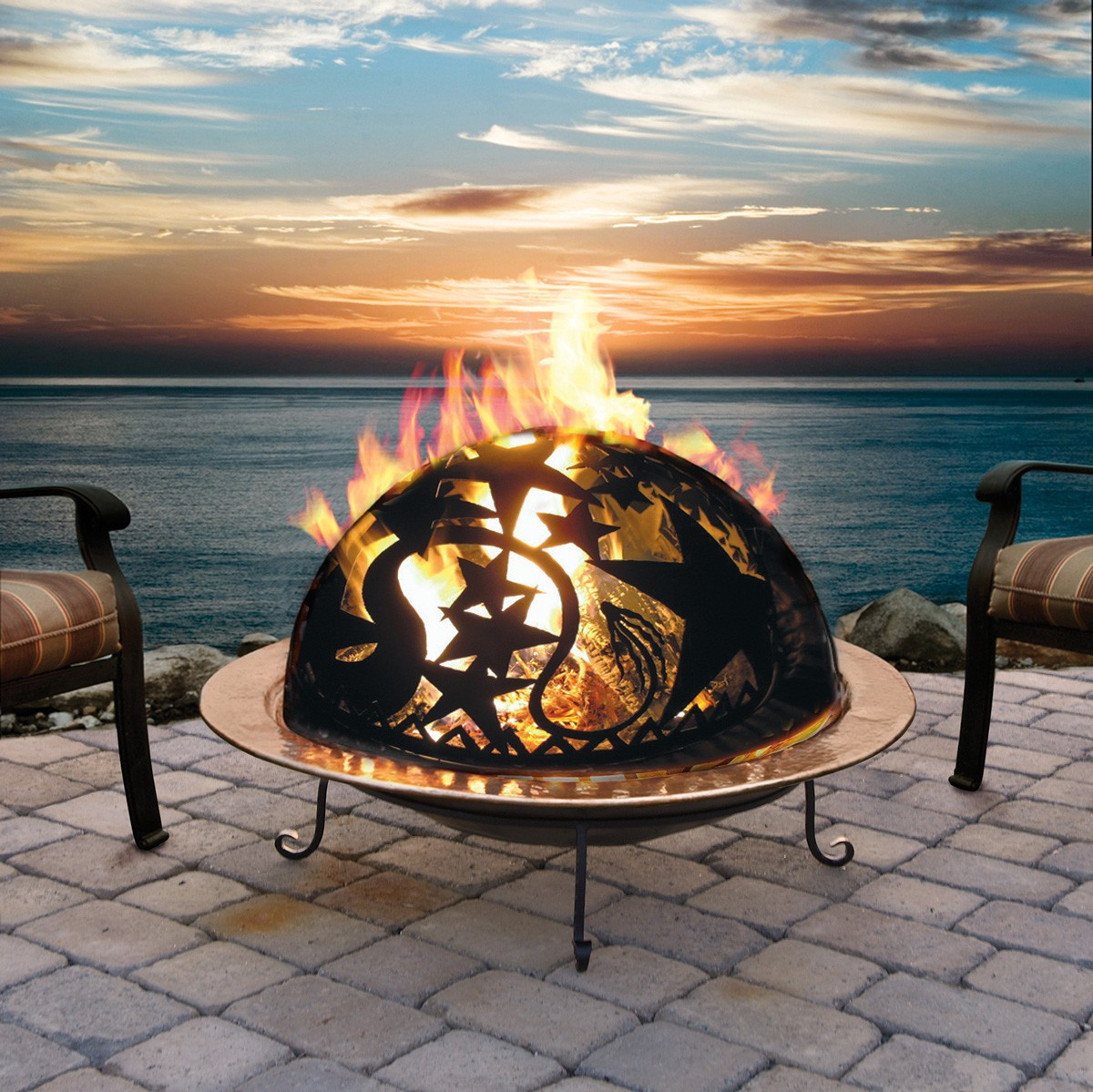 Picture of: Good Portable Fire Pit