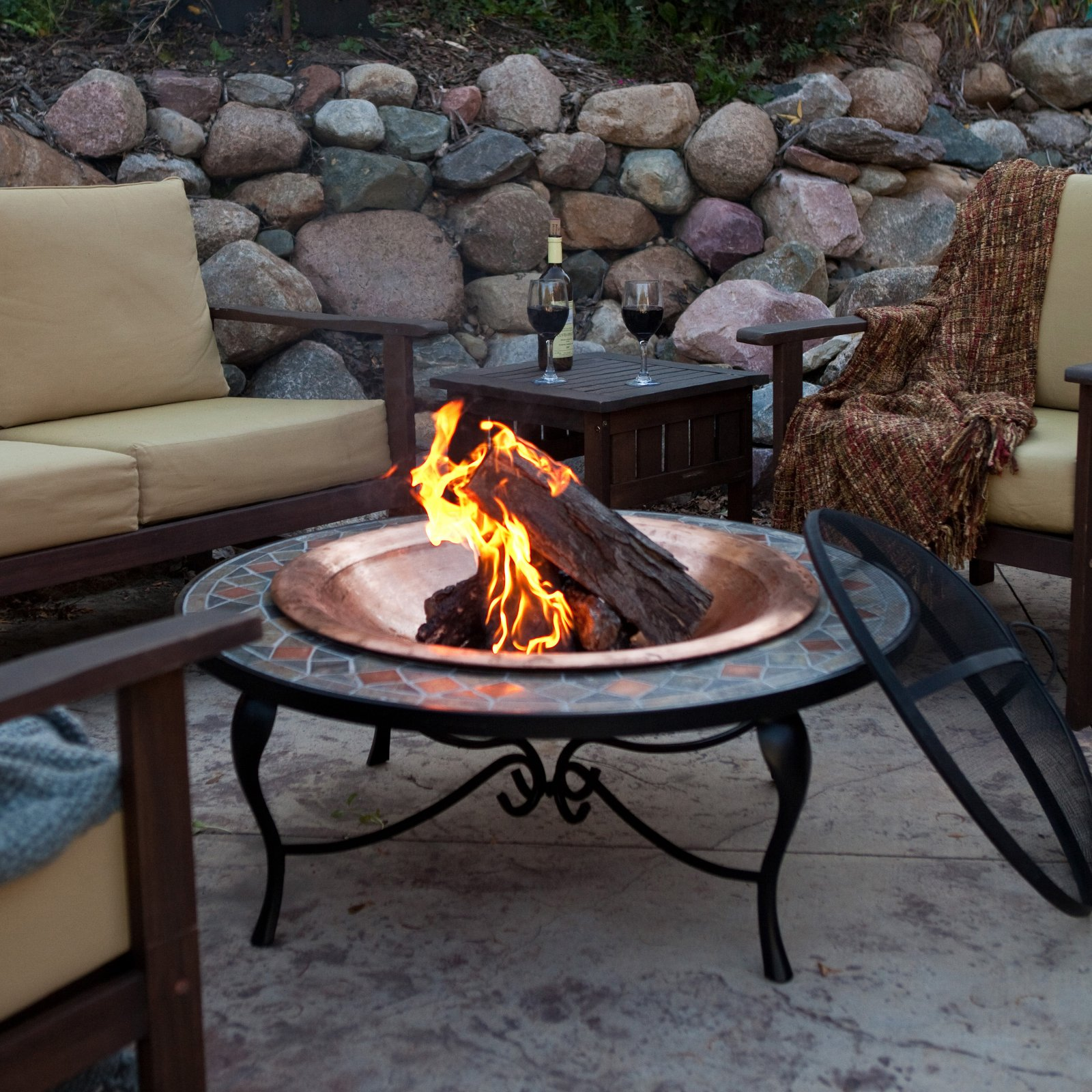Image of: Lowes Portable Fire Pit