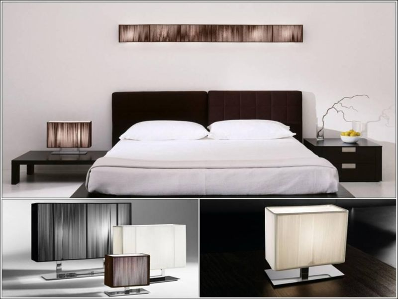 Image of: Amazing Interior Design Bedside Table Lamps
