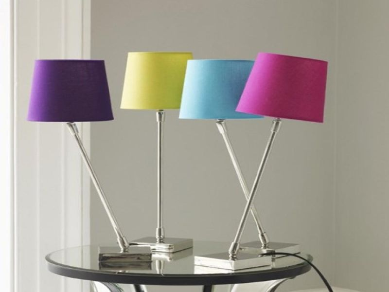 Image of: New Bedside Table Lamps