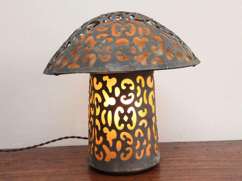 Antique Japanese Lantern Table Lamp