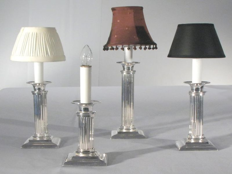 Image of: Battery Operated Table Lamp Image