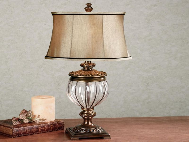 Picture of: Beautiful Battery Operated Table Lamp