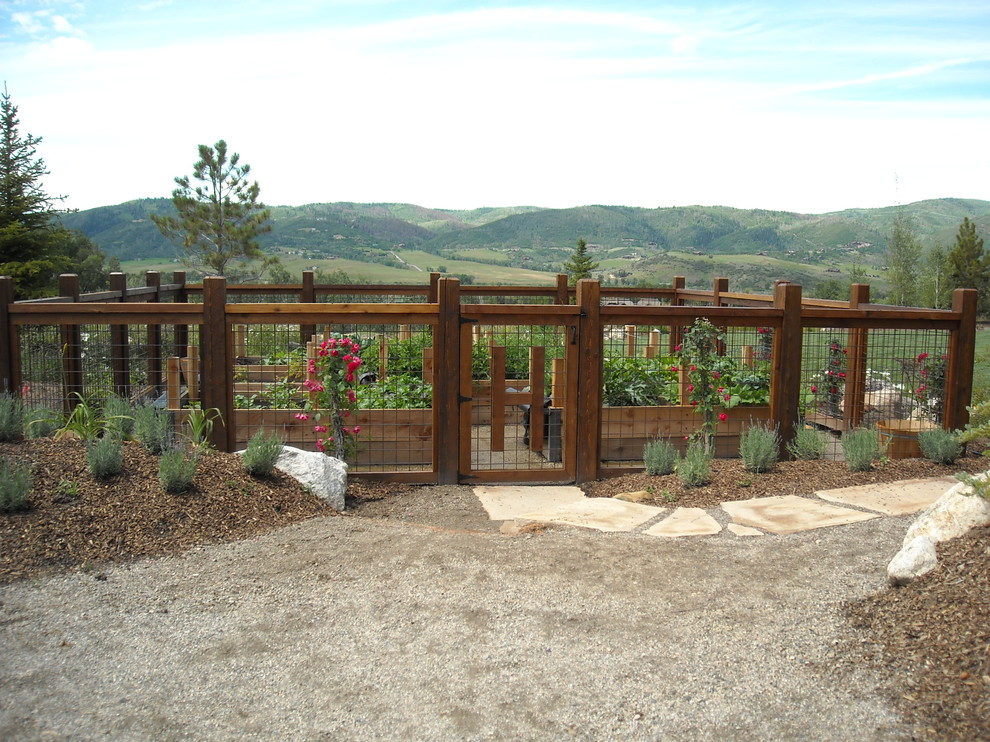Image of: Best Vegetable Garden Fence Ideas
