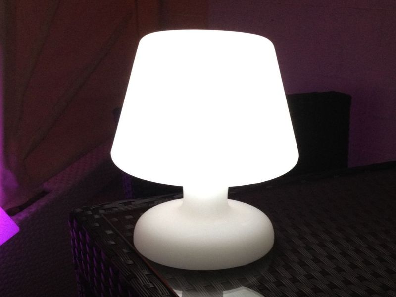 Picture of: Cool Cordless Table Lamp