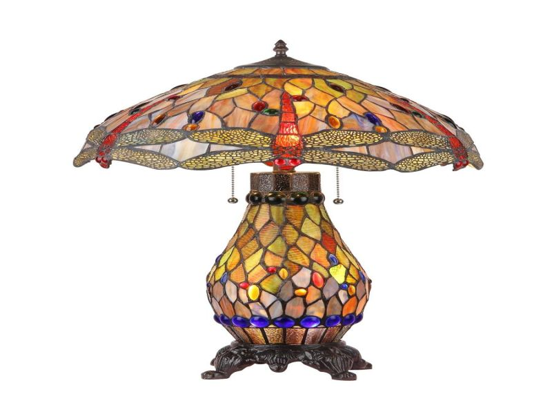 Picture of: Cute Tiffany Table Lamps