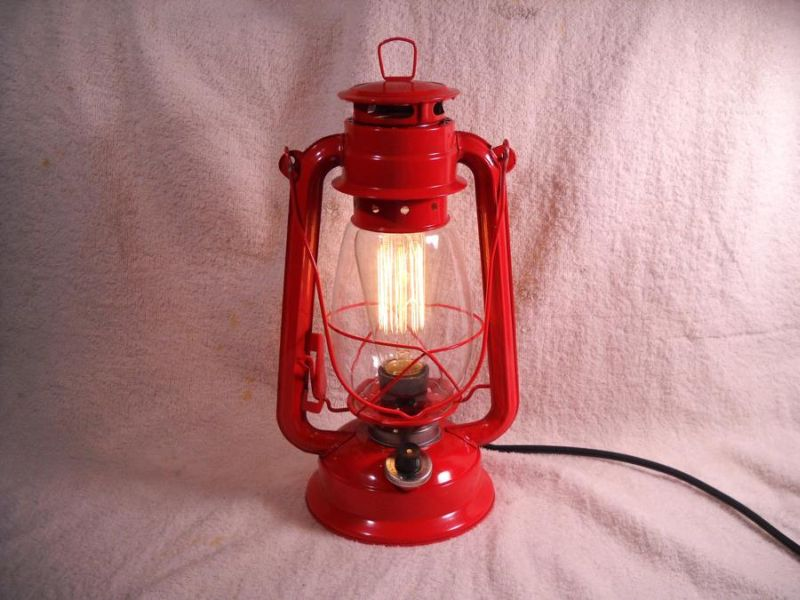 Image of: Electric Lantern Table Lamp