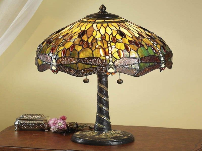 Picture of: Interiors Tiffany Table Lamps