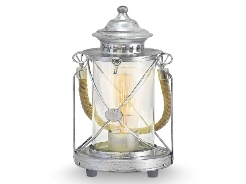 Picture of: Lantern Table Lamp Style