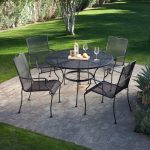 New Wrought Iron Patio Table