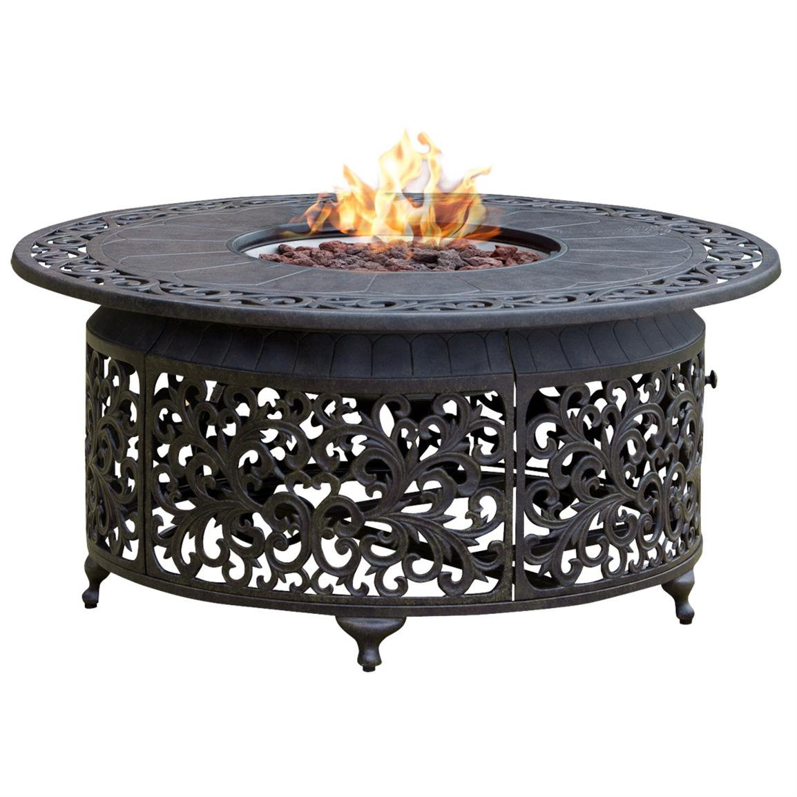 Picture of: Rustic portable outdoor fire pit