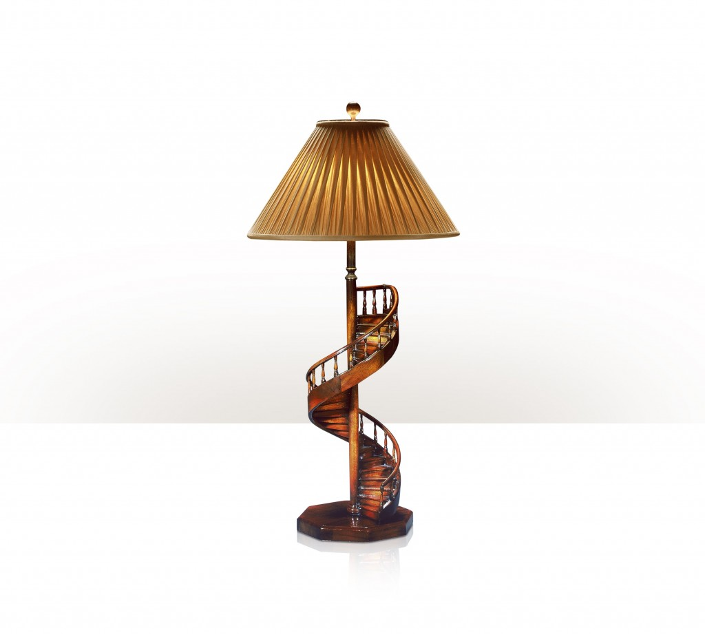 Picture of: Spiral nautical table lamps
