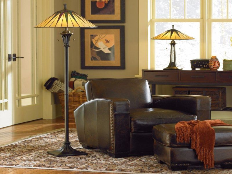 Picture of: Tiffany Table Lamps for Living Room