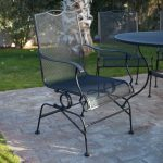 Wrought Iron Patio Table Furniture