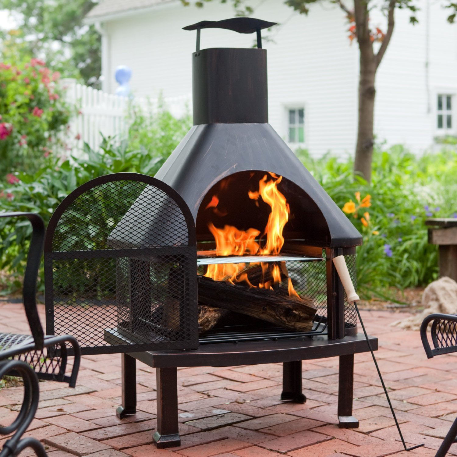 Picture of: patio portable outdoor fire pit
