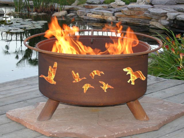 Portable Outdoor Fire Pit Image