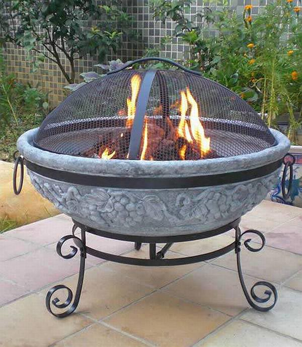 Picture of: portable outdoor fire pit images