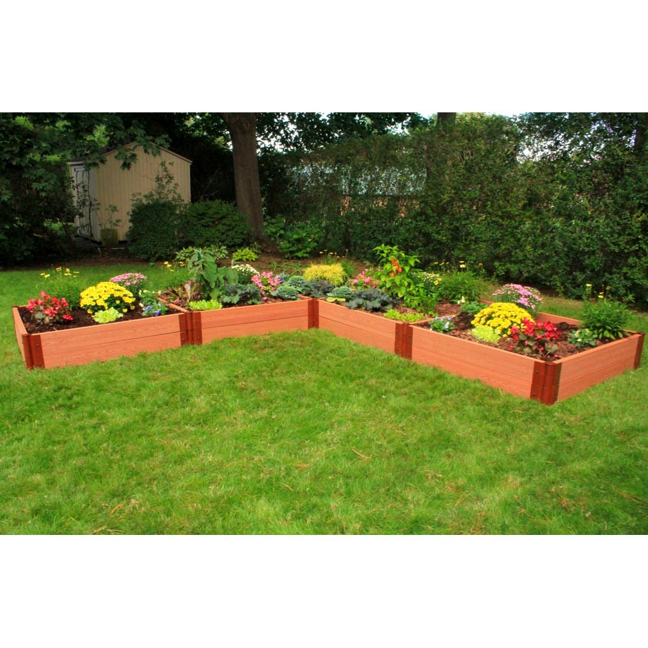 Shaped Raised Vegetable Garden Ideas