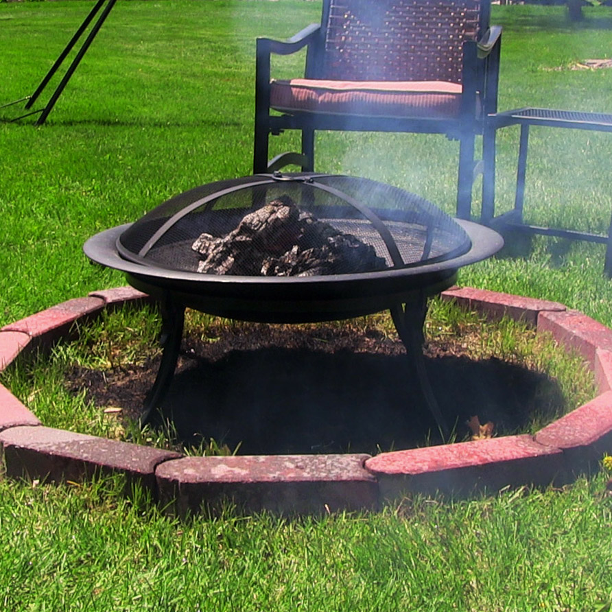 Picture of: simple portable outdoor fire pit