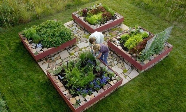 Picture of: small raised vegetable garden ideas