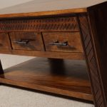 Mango Wood Coffee Table Homebase In Door Brown
