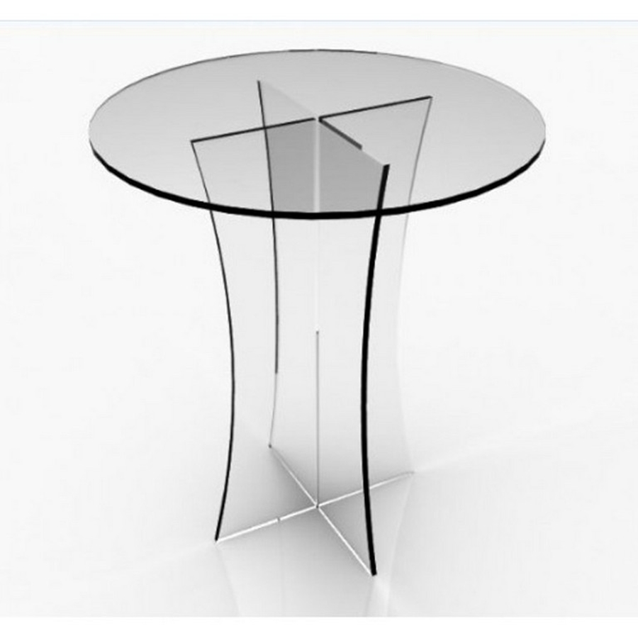 Image of: Plexiglass Table Top Thickness