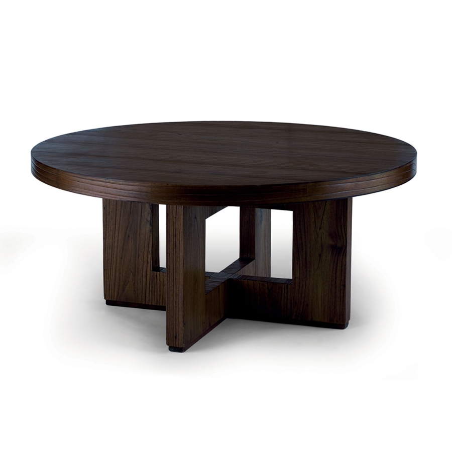Image of: Round Coffee Tables Elegant