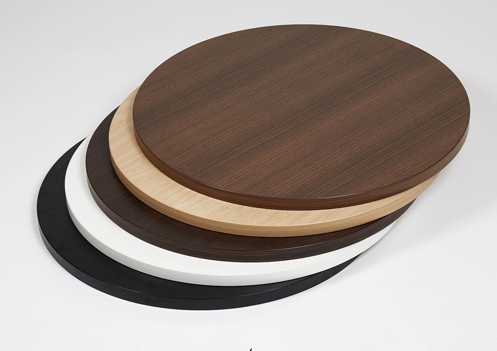 Image of: Round Laminate Table Tops