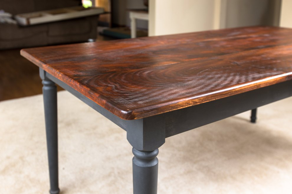 Image of: Solid wood table tops IKEA