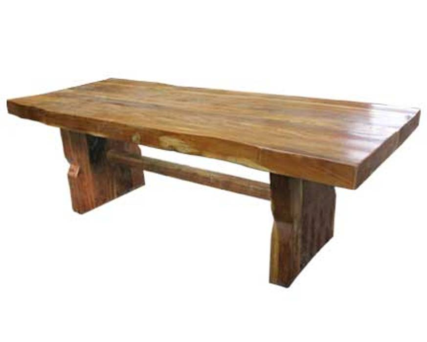 Image of: Solid wood table tops walnut