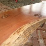 Solid wooden table tops