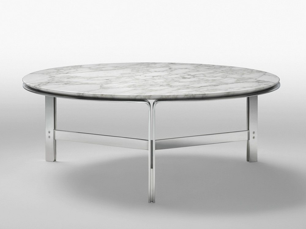 Image of: Beauty Round Marble Coffee Table