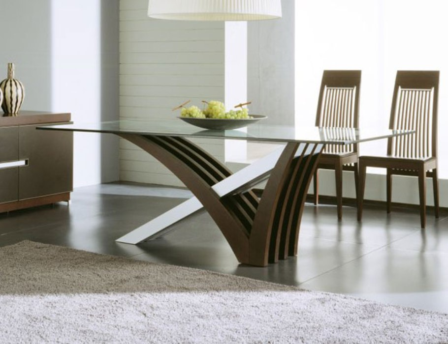 Picture of: Big Round Dining Tables Contemporary