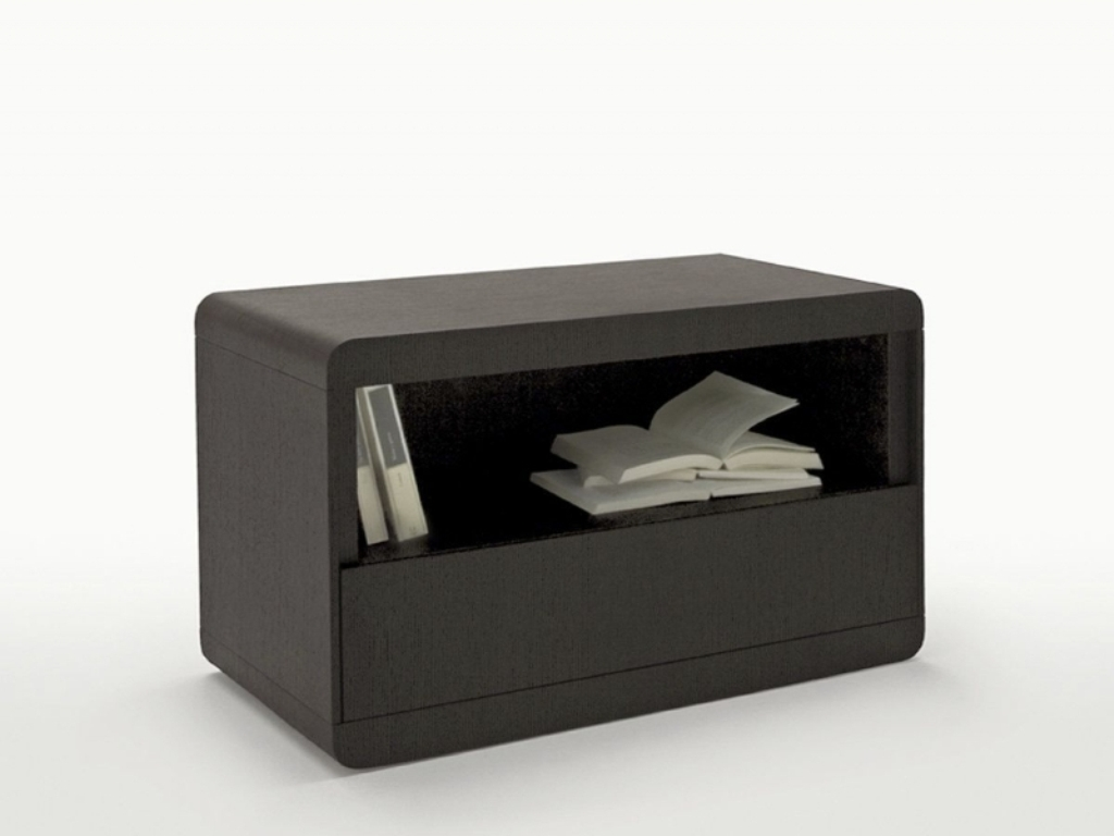 Picture of: Black Contemporary Bedside Tables
