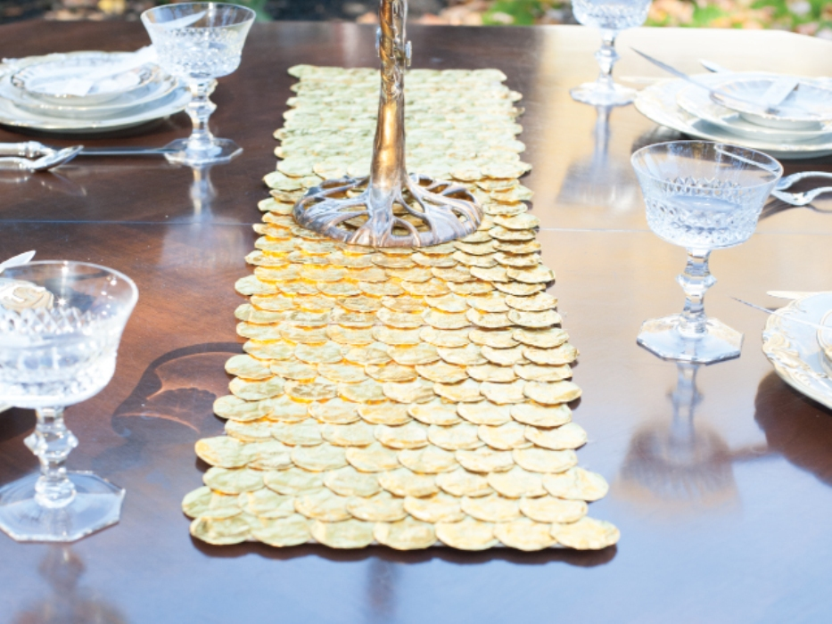 Picture of: Braided Contemporary Table Runners