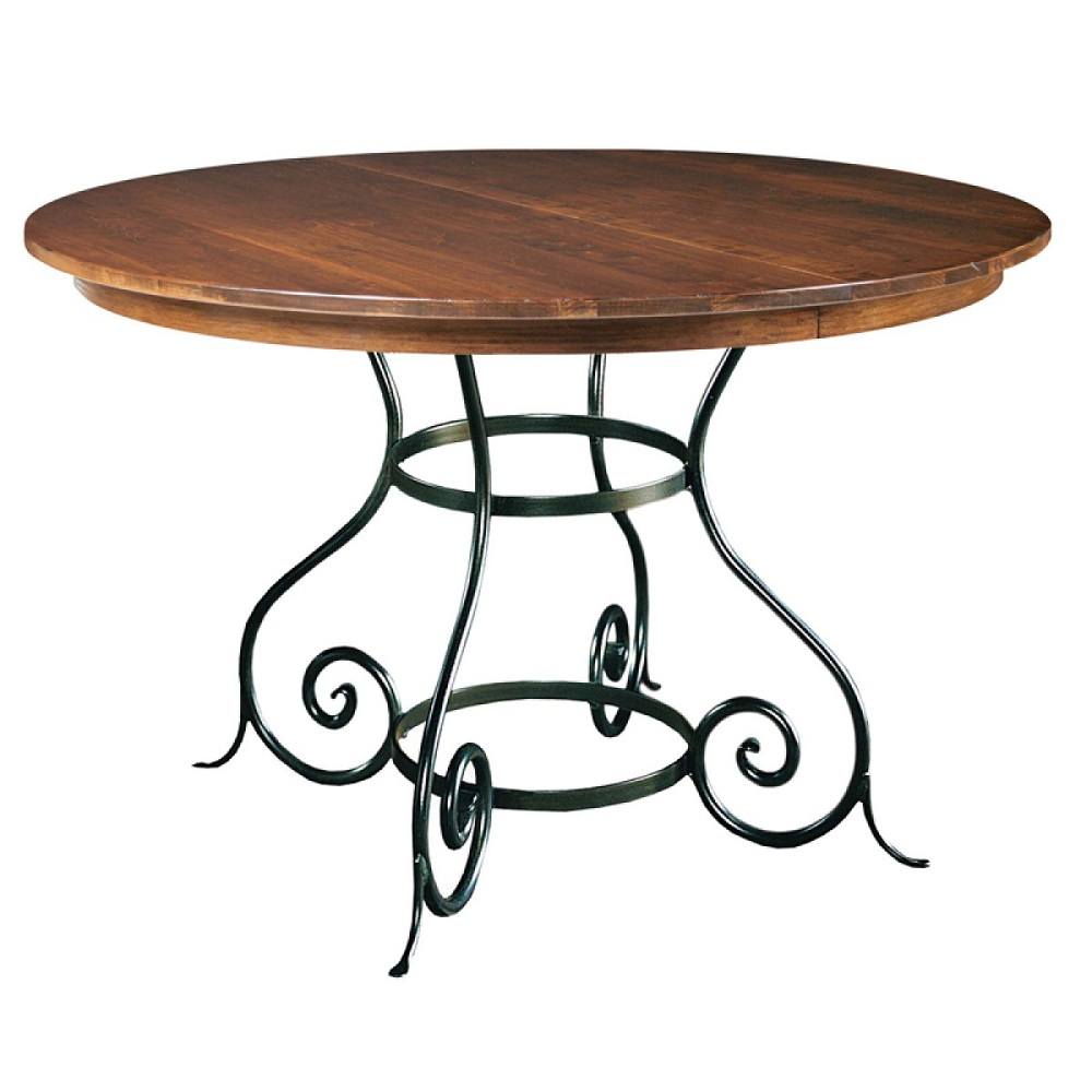 Picture of: Classic Round Extension Dining Table