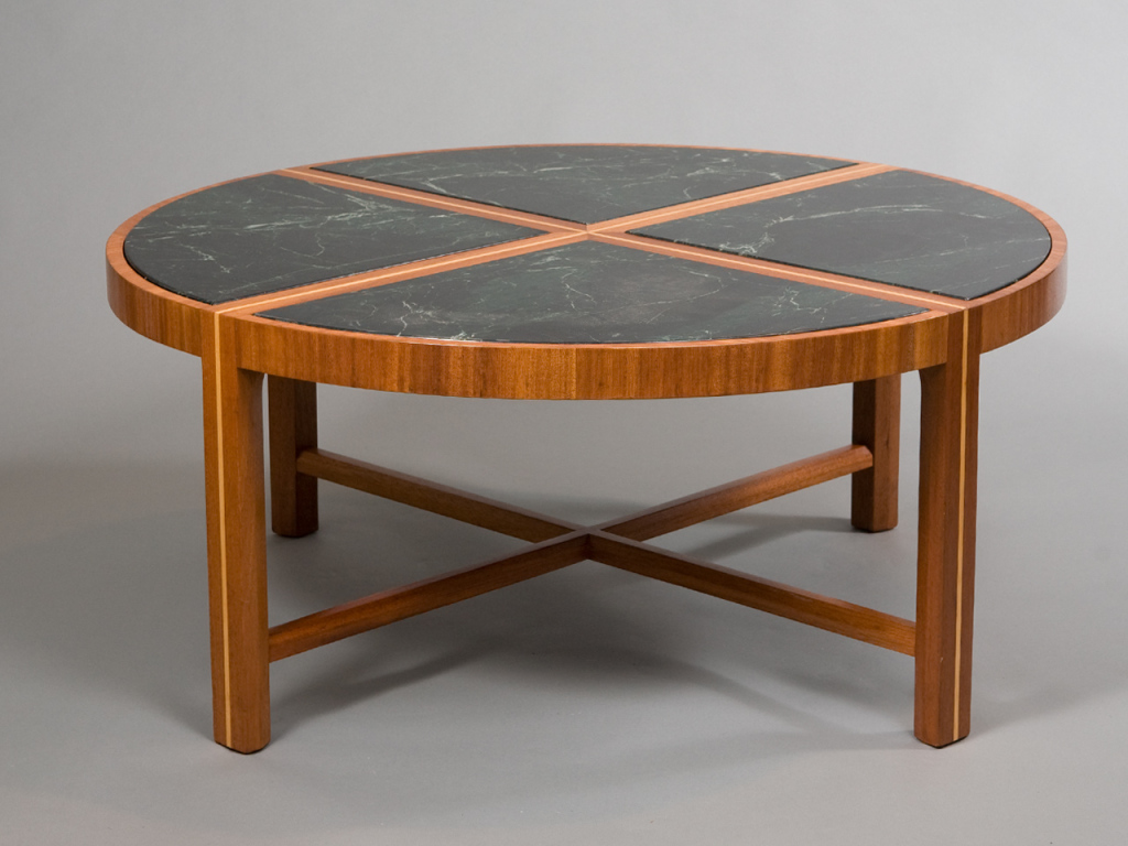 Image of: Concept Design Round Marble Coffee Table