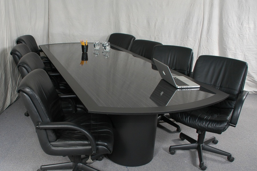 Image of: Contemporary Conference Tables Black