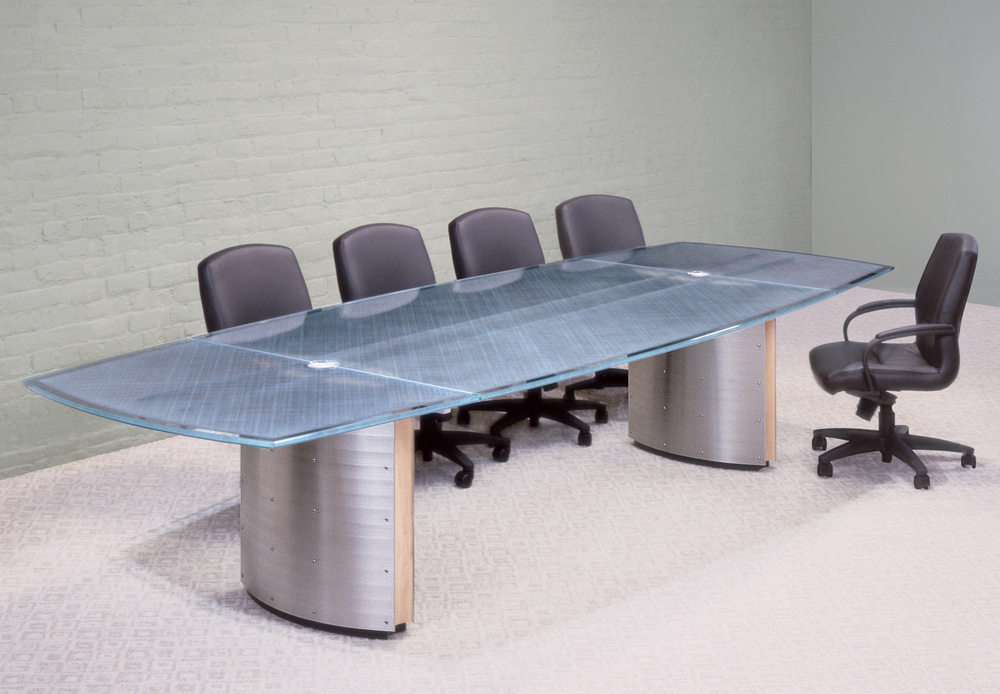 Image of: Contemporary Conference Tables Glass