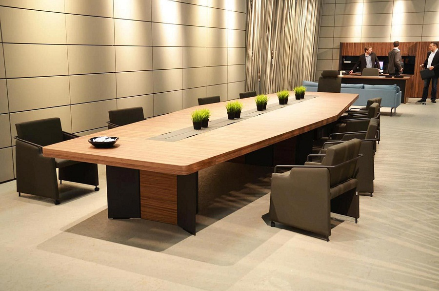 Image of: Contemporary Conference Tables Shapes